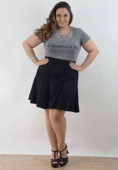 Looks Plus Size, Curvy Plus Size, Plus Size Model, Curvy Women Fashion, Cute Fashion, Plus Size Fashion, Curvy Women Outfits, Sexy Outfits, Plus Size Skirts