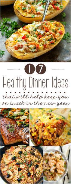 17 Healthy Dinner Ideas