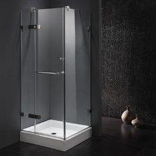 32 corner shower stall. 32  W X D 73 38 H Pivot Door Frameless Shower Enclosure Delta 36 In 76 3 Piece Corner