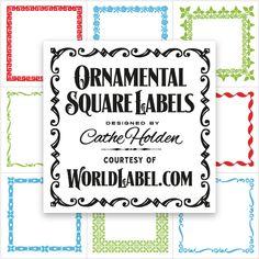 """ces très belles créations de Cathe Holden (des """"classiques"""" en soi...) peuvent être utilisées comme cadres, imprimées sur transparent et/ou détourées..."""