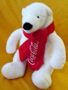 20f43b2e441 Coca Cola Polar Bear Plush 2012 9
