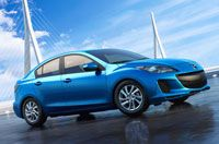 Mazda 3 - the new Skyactiv technology is providing m.p.g. of up to 28/39.