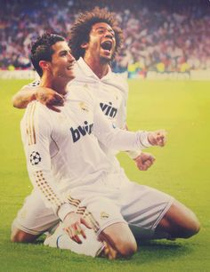 Congrats to Ronaldo and Marcelo for great goals today!!:)