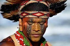 pintura corporal indio brasil - Pesquisa Google