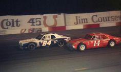Mike Alexander #84 Cougar and Sterling Marlin #14 Nova at Nashville.