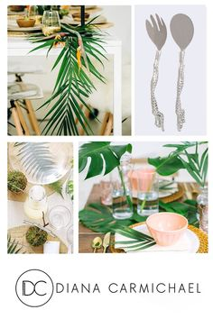 Diana, Table Settings, Africa, Salad, Leaves, Fresh, Table Decorations, Tableware, Life