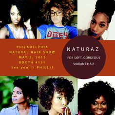 Let's make some noise Philly!! Philadelphia Natural Hair Show is going to be off the chain!! Stop by our booth, #151 for some great hair products and stop by our workshop at 11am in Room #1 for some awesome hair tips!  Saturday, May 2, 2015 See you there!! #phns2015 #teamnatural #naturazhair @phillynaturalhair #naturalista