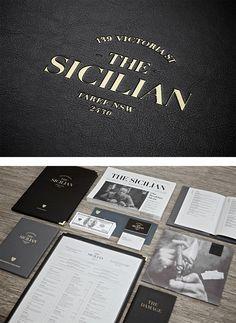 The Sicilian Identity by Bravo Company | Inspiration Grid | Design Inspiration