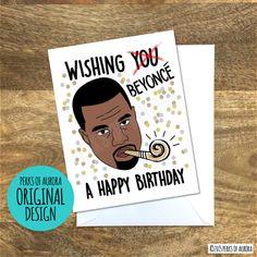 Kanye West Birthday Card Kanye West Birthdays And Etsy