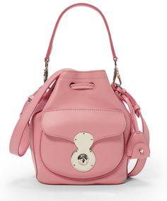 Ralph Lauren Pink Pony Ricky Drawstring Bag