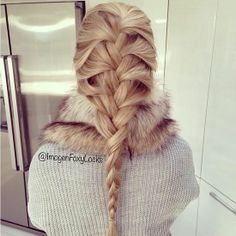 French Braid like Elsa's hair ♥♥♥ in love with her braid