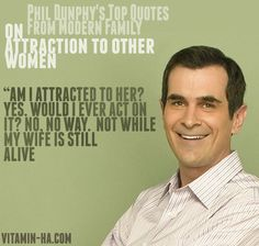 Phil Dunphy on Attraction to Other Women