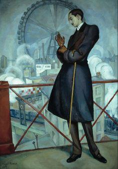 Diego Rivera – Retrato de Adolfo Best Maugard, 1913 | Museo Nacional de Arte (MUNAL), Mexico