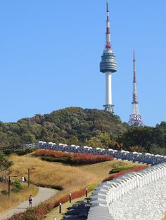 N SEOUL TOWER, the very place to enjoy the entire city of Seoul!  For more info: www.nseoultower.co.kr/eng/index.asp