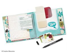 Here's to Fabulous You from Nancy O'Dell and Creative Memories - a little place to tuck all of life's great ideas! $19.95