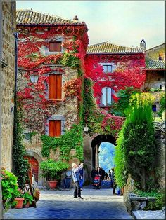 Ingresso di Civita di Bagnoregio is a town in the Province of Viterbo in central Italy Places Around The World, Travel Around The World, Around The Worlds, Places To Travel, Places To See, Travel Destinations, Dream Vacations, Vacation Spots, Beautiful World