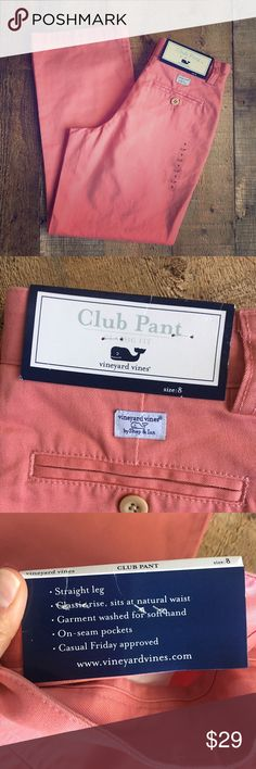 New Vineyard vibes classic club pants. Boys classic club pants. Size 8. New! Vineyard Vines Bottoms