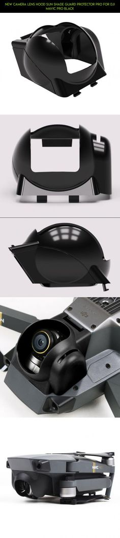 New Camera Lens Hood Sun Shade Guard Protector pro for DJI Mavic Pro Black #tech #products #parts #technology #plans #kit #drone #camera #fpv #sun #shopping #gadgets #mavic #hood #shade #racing #pro
