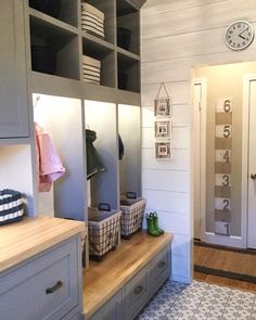 """1,487 Likes, 60 Comments - Jordan (@house.becomes.home) on Instagram: """"A clean #mudroom is a happy mudroom having this space in my new house was a must! It was my…"""""""