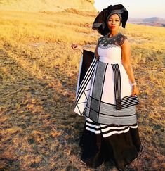 Zulu Traditional Attire, African Traditional Wedding, Traditional Dresses, Xhosa, South Africa, Two Piece Skirt Set, Culture, Wedding Dresses, Skirts