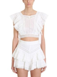 Runway Floral Printed Two Piece Set Summer Sweet White Lace Patchwork Top+ Short 2 Piece Outfits Size S Color picture color Casual Outfits, Cute Outfits, Fashion Outfits, Womens Fashion, Red Joggers, Bodice Top, Thing 1, Kinds Of Clothes, Girl Clothing