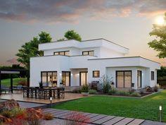 ZENKER Musterhaus Konzept 251. Das Traumhaus überzeugt durch modernen, modularen Aufbau. Entdecken Sie die Fertighaus-Welt von ZENKER.