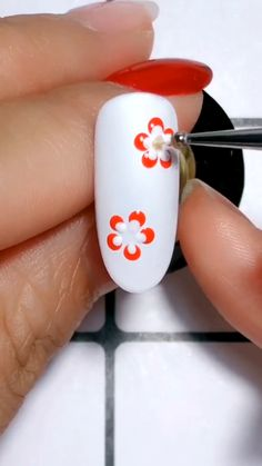 nail art designs easy * nail art designs _ nail art _ nail art designs for spring _ nail art videos _ nail art designs easy _ nail art designs for winter _ nail art designs summer _ nail art diy Nail Art Designs Videos, Nail Design Video, Nail Art Videos, Diy Nail Designs, Acrylic Nail Designs, Nail Art Tutorials, Flower Nail Designs, Nail Art Hacks, Gel Nail Art