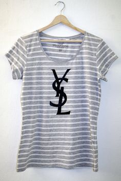 DIY  YSL Shirt