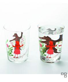 D-BROS(ディーブロス)の「Method of drinking fairy tale 童話をのむ方法」 赤ずきん