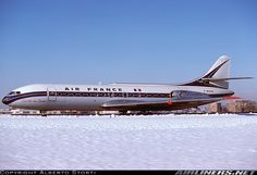 Air France, Caravelle, beautiful plane and livery combination.