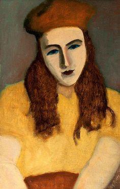 Milton Avery - Sally 1930