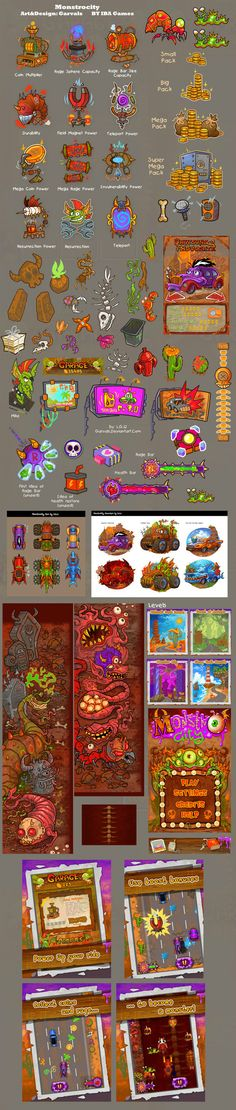 A very interesting game interface | GAMEUI-game design circles gathering | Game UI | Game Interface | Game Icons | games site | Game Group | ...