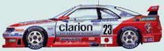 Nissan Skyline R33, Skyline Gt, R33 Gtr, Car Side View, Car Tuning, Custom Cars, Jdm, Cars And Motorcycles, Race Cars