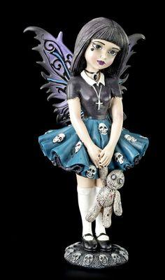 Gothic Elfen Figur - Little Shadows - Noire | Elfen | Figuren | Dekoration | Gothic-Shop | www.figuren-shop.de