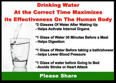 DRINKING WATER by Rawforbeauty  http://www.facebook.com/pages/Rock-your-Locks/133025596754055?fref=ts
