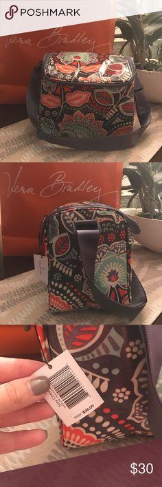 New Vera Bradley Nomadic Floral Stay Cooler!! New Vera Bradley Nomadic Floral Stay Cooler!! Adjustable strap. Vera Bradley Bags