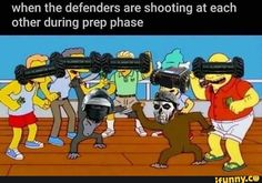 When the defenders are-shooting at each other during prep phase - iFunny :) Rainbow Six Siege Art, Rainbow 6 Seige, Rainbow Six Siege Memes, Tom Clancy's Rainbow Six, Video Game Memes, Video Games Funny, Funny Games, Gamer Humor, Gaming Memes