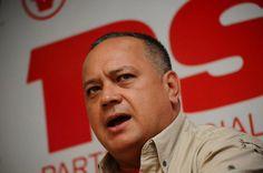 """Cabello: """"Chavismo estará atento de lo que hará la oposición el 19 de abril"""""""