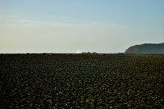 Mar de lava en Lanzarote