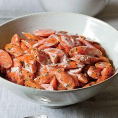 Carrots with Tahini Dressing | Food & Wine