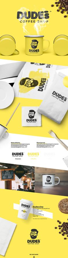 다음 @Behance 프로젝트 확인: \u201cDudes Coffee Shop\u201d https://www.behance.net/gallery/52953581/Dudes-Coffee-Shop