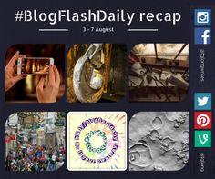 #BlogFlashDaily recap: 3-7 August #creativity #writingprompt
