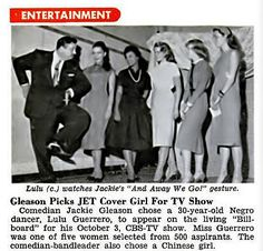 Jackie Gleason Picks Jet Covergirl Lulu Guerrero For Telev… | Flickr