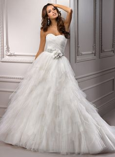 *Sigh* Carissa by Maggie Sottero. she has so many pretty dresses...i don't want to think about how much they cost :)