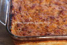 Spaghetti Squash Pizza- Oh Wow!