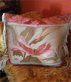 Small Aubusson Pillow $600.00