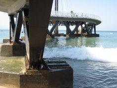 New pier in Puerto Vallarta, Mexico. I can hear the waves now........ www.puertovallarta.net #vallarta #puertovallarta #pier #travel #mexico #jalisco #beaches