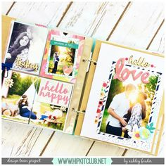 Check out @ashleylaurabu 's latest #projectlife layout creates with our #may2016 #hipkits . We have a #processvideo to go along with it.  Stop my our @hipkitclub Facebook page for the details.  #hipkitclub #hipkit #scrapbooking #pocketscrapbooking @illustratedfaith #sheblooms @jillibeansoup #healthyhellosoup #hkcexclusiveproducts #meadowbrook @kjstarre #papercraft #papercrafts #papercrafting #scrapbookkit #kitclub Scrapbook Page Layouts, Scrapbook Pages, Diy And Crafts, Paper Crafts, Paper Paper, Project Life 6x8, Pocket Scrapbooking, Scrapbooking Ideas, Hip Kit Club