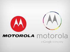 Logotipos antigo e novo da Motorola