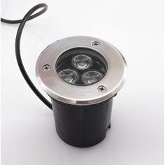 LED Bodeneinbaustrahler 3W Warmweiß